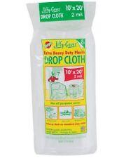 Warp's 2JC1020 Jiffy Cover Extra Heavy Duty Plastic Drop Cloth, 10' x 20', 2 Mil
