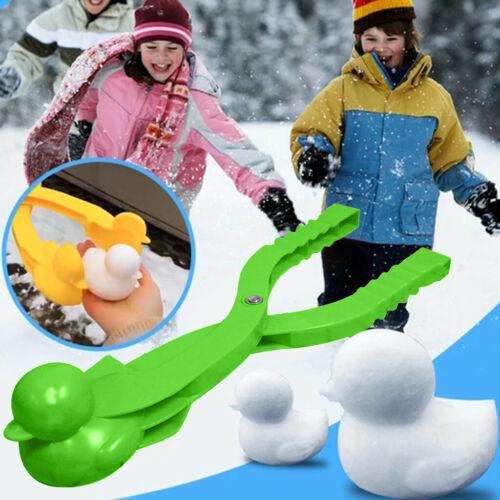 Snowball Maker Clip Maker Cute Ducks Shaped Clip Set Snow Snowman Sand Mold Tool