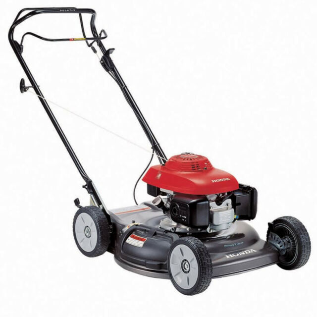 Charming Honda Lawn Gas Yard Mower Self Push Propelled Walk Behind Single Speed 21  Inch