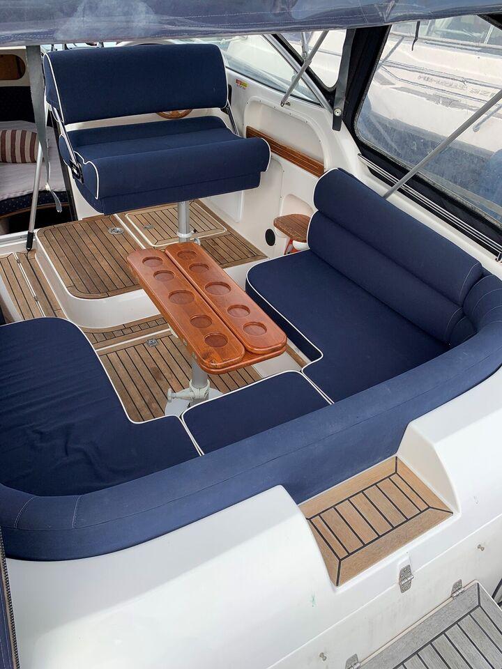 Motorbåd - Dieselmotor og fast skrueaksel