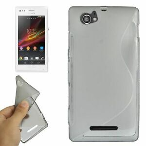 Bumper-Mobile-Case-Phone-for-Sony-Xperia-M-C1904-C1905-Grey