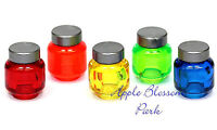 Lego Minifig Set/5 Display Jars - Halloween Friends Kitchen Food Bottle/head