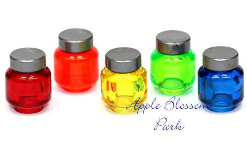 Halloween Freunde Küche Nahrung Flasche Neu Lego Minifig Set/5 Display Gefäße LEGO Bau- & Konstruktionsspielzeug