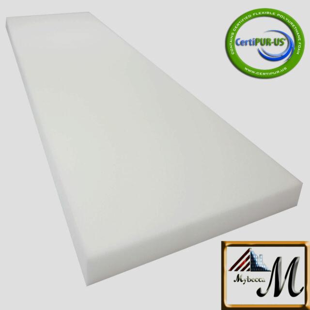 Mybecca Upholstery Foam Cushion High Density 2 L x 30 W x 72 H