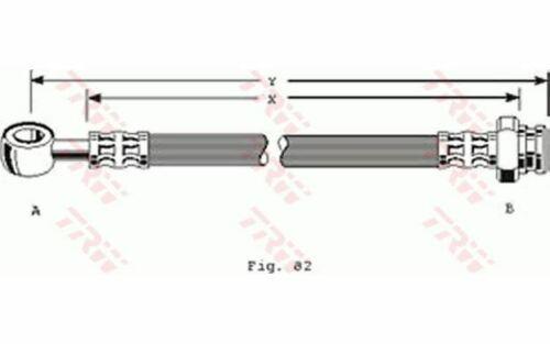 Mister Auto TRW Bremsschlauch für Ihr Auto rechts oder links vorne PHD156