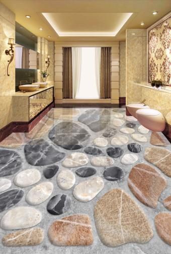 3D Classic Fashion Stone 78 Floor WallPaper Murals Wall Print Decal AJ WALLPAPER