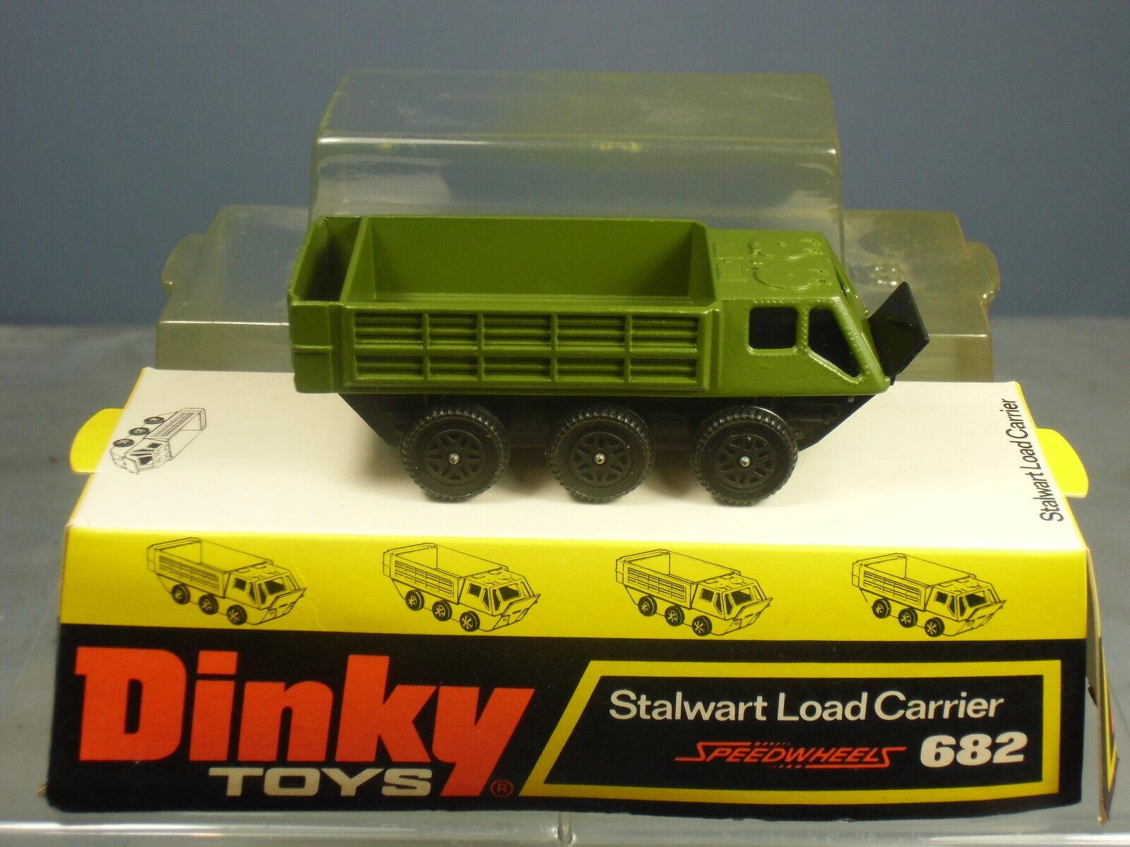 Dinky Toys No Modelo 682 versión verde  portador de carga incondicionales  VN MIB