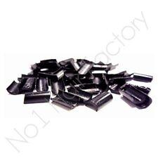 50 un. X Alta Calidad Profesional Keratina Pegamento Fusion Bonos-Negro