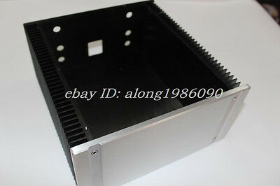 Blank 2412B Full Aluminum Enclosure/mini AMP case/power amplifier chassis -sn