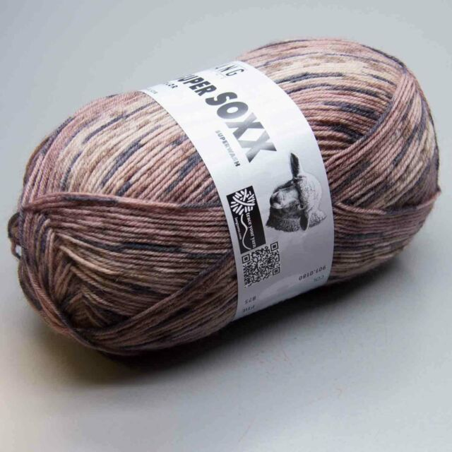 Super Soxx Color 4Ply Lang Yarns 180 - Ll 420m/100g - Needle Thickness 2,5 - 3,5