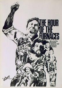 HOUR OF THE FURNACES 1968 Fernando E. Solanas ARGENTINA UK POSTER | eBay
