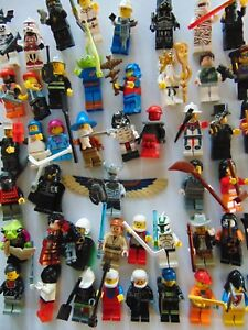 Accessories StarWars etc Bundle Lego Minifigures 10 x Random Lego Mini figures Zabawki konstrukcyjne LEGO