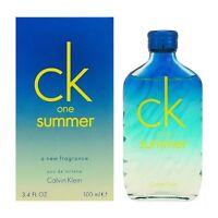 Ck One Summer 2015 Edition A Fragrance 3.4 Oz. Edt Perfume 100 Ml
