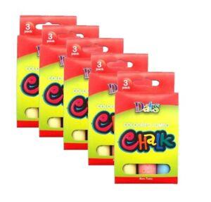 15-x-Chalk-Stick-Jumbo-Coloured-Classic-Art-Craft-Kid-Chalk-Sticks