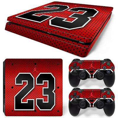 Magic 23 Motif Driving A Roaring Trade Video Game Accessories Video Games & Consoles Sony Ps4 Playstation 4 Slim Skin Sticker Screen Protector Set