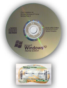 STICKER-CLE-DE-LICENCE-OFFICIELLE-WINDOWS-XP-HOME-FAMILIAL-DVD-INSTALL-SP3-FR