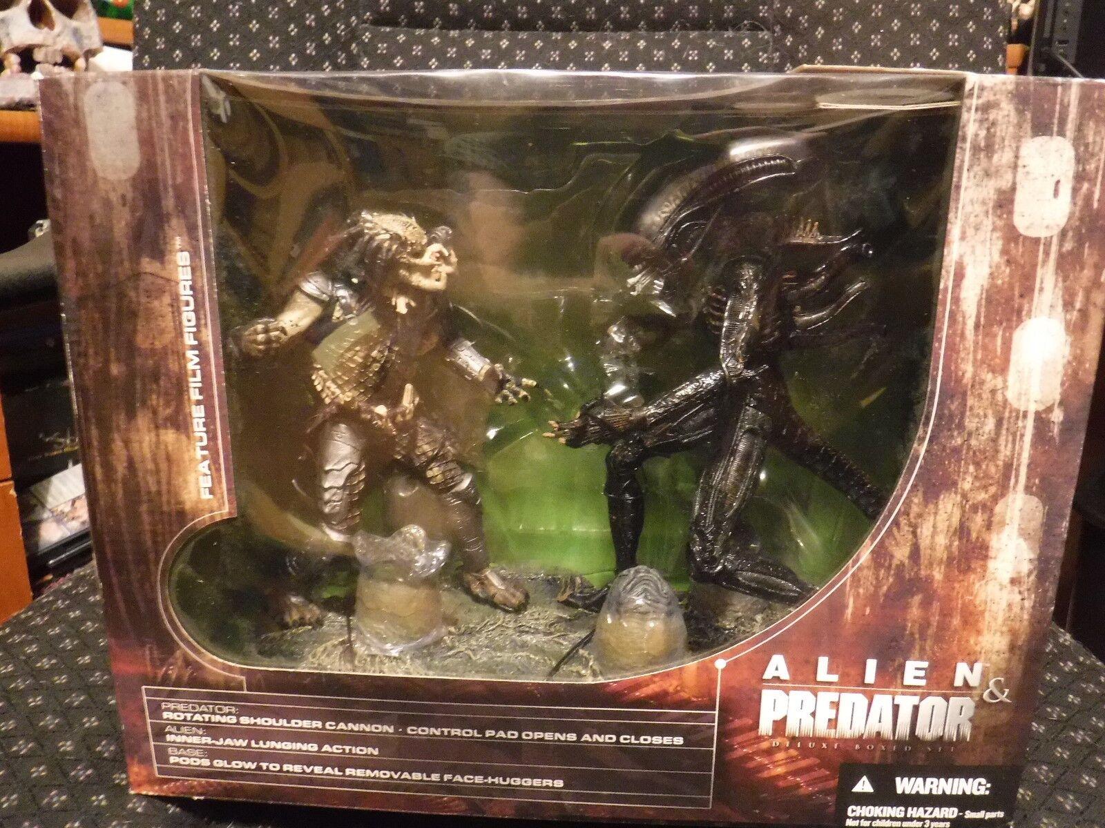 Mcfarlane Movie Maniacs Alien Vs Projoator Avp Nuevo En Caja