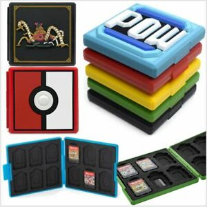 For Nintendo Switch Game Card Case Holder Storage Box Carry Protector Portable Ebay