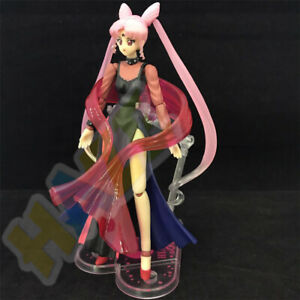 Anime-Sailor-Moon-Black-Lady-6-034-PVC-Action-Figure-Statue-Model-Toy-In-Box