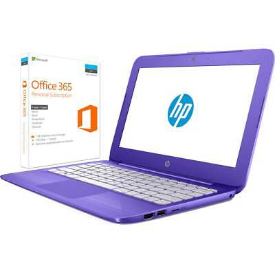 HP 1AP71EA#ABU Laptop Intel® Celeron® 2 GB 32GB HD Violet Purple Includes