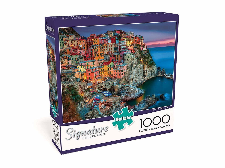 Cinque Terre, 1000 -bitars pussel, Buffalo spel Signature Series