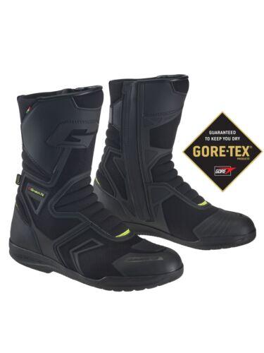 + Gaerne Helium GTX Bottes Noir 46 Moto Bottes TRAJET-Bottes NEUVES//NEW