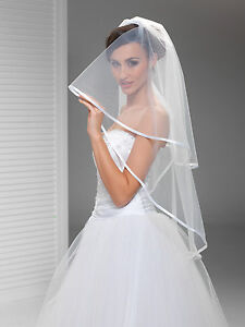 Wedding-Plain-Veil-on-Comb-Fingertip-Length-Satin-Edge-W-59