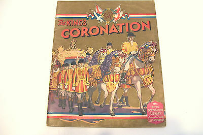 1937 Boys Coronation Library The Kings Coronation -Was Originally with Hotspur
