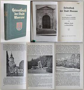 Krause-Heimatbuch-der-Stadt-Meerane-um-1930-Geschichte-Ortskunde-Sachsen-xz