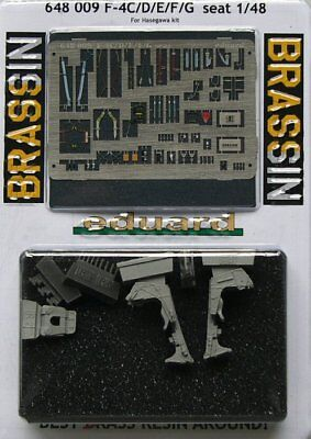 Eduard Brassin 1//48 F-4C//D//E//F//G Phantom II Seats x 2 # 648009