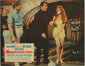 DEAN-MARTIN-ANN-MARGRET-MURDERERS-039-ROW-Lobby-Card-1966-FINE-MATT-HELM