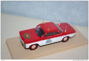 ELIGOR-1-43-AUTO-DIE-CAST-CHEVROLET-CORVAIR-POMPIERS-USA-1962-ROSSO-BIANCO-1151