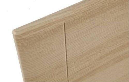 4ft Small Double Light Oak Colour Wooden Headboard