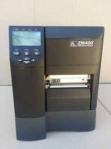 Zebra Zm400 Plus Thermal Label Printer Usb Amp Network