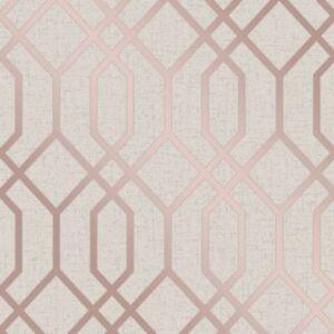 Fine Decor Quartz Treillage Papier Peint Geometrique Fd42306
