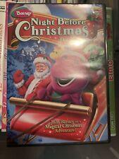 Barney - Night Before Christmas (DVD, 2008)