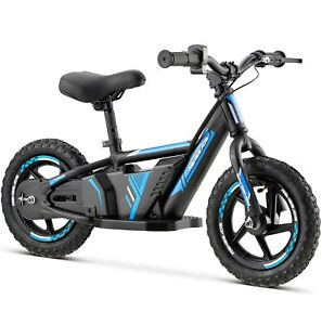 "Renegade BB12 24V Lithium Electric Balance Bike Motorbike 12"" Wheels - Blue"