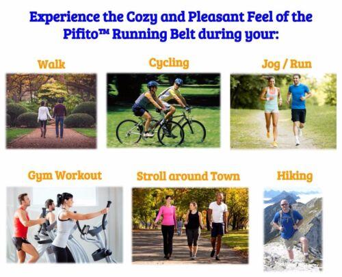 Pifito Running Belt Waist Pack Fanny Pouch Bag Sports Jogging Workout