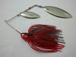 ELITE SPINNERBAIT 1//8oz  COLOR RED SHAD