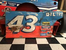 Richard Petty #43 STP Nascar Race Used Sheetmetal Door