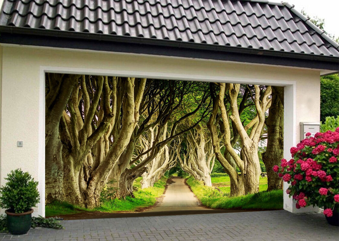 3D Tree Trunk 844 Garage Door Murals Wall Print Decal Wall AJ WALLPAPER UK Carly