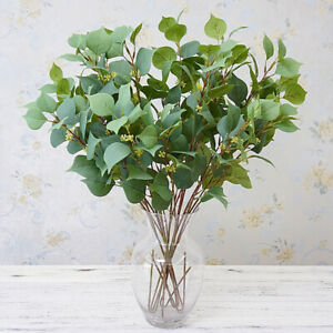 Am-ALS-1Pc-Artificial-Bodhi-Leaf-Plant-Home-Garden-Flower-Arrangement-DIY-Deco
