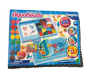Bambini Principianti Studio Aquabeads FACILE DA COSTRUIRE Divertimento Acqua facile Storage AB30248 4+