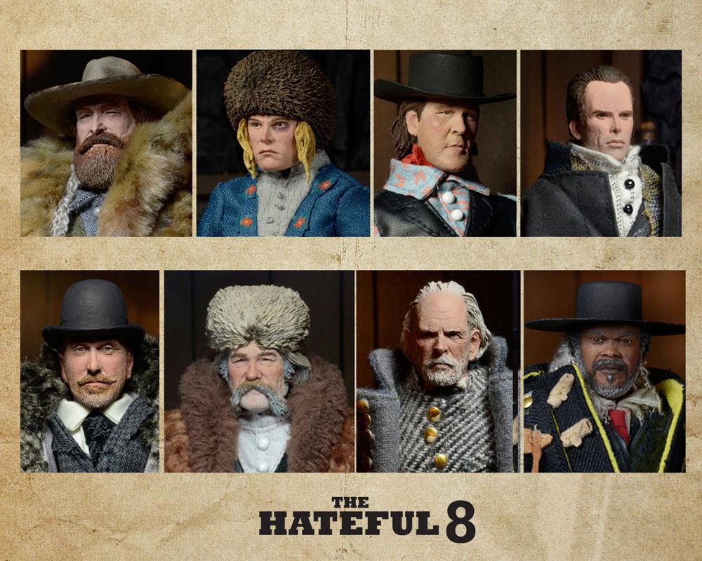 The Hateful Eight Actionfiguren 20 cm 8er Set Limitiert  NEU & OVP