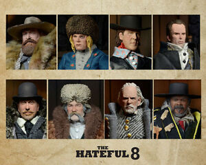 The-Hateful-Eight-Actionfiguren-20-cm-8er-Set-Limitiert-NEU-amp-OVP