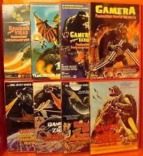 Gamera 1-8 - Die komplette Reihe 1965-1980 - 8 DVD - NEU OVP Daei Kaiju Classic