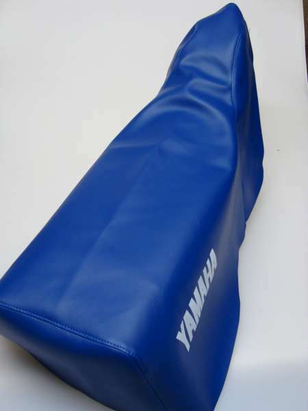 Motorcycle seat cover - Yamaha XT600Z 1VJ in blue