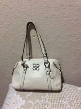 COACH JULIA CREAM WHITE SATCHEL BAG SHOULDER BAG