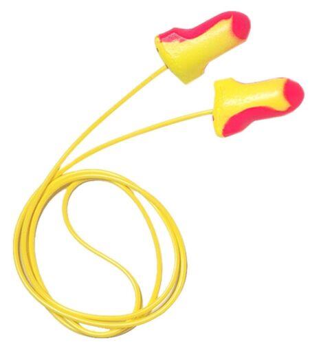 5 Laser Lite dUal Ear CORDED FOAM EARPLUGS nrr 32 NR HOWARD LEIGHT Plugs LL-5-30