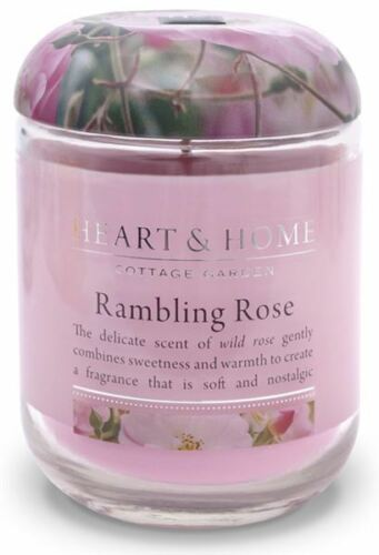 Luxury Soy Wax Scented Heart /& Home 30 Hour Candle in a Jar